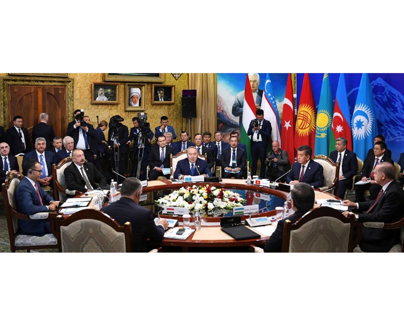 Президент РК открыл саммит Совета тюркоязычных государств в Кыргызстане
