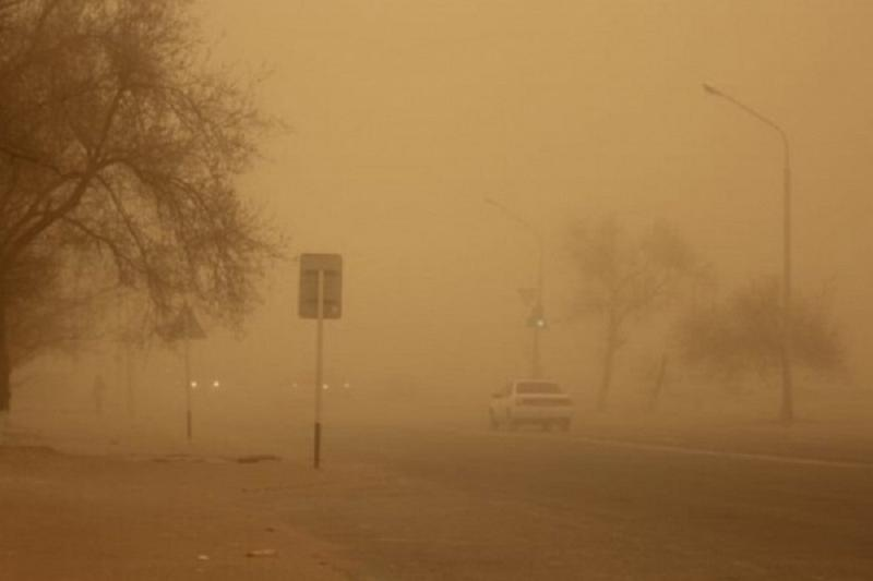 Dust storm and wild wind to roll through Kyzylorda rgn