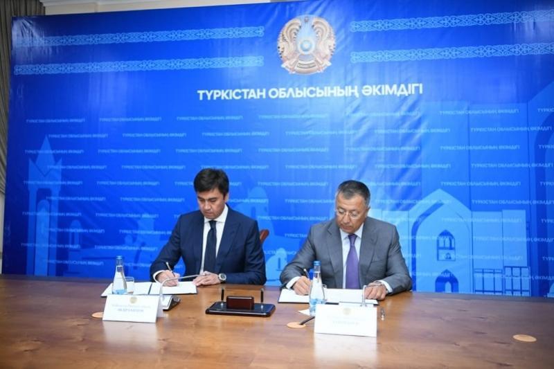 Первое здание в новом центре Туркестанской области построит акимат Шымкента