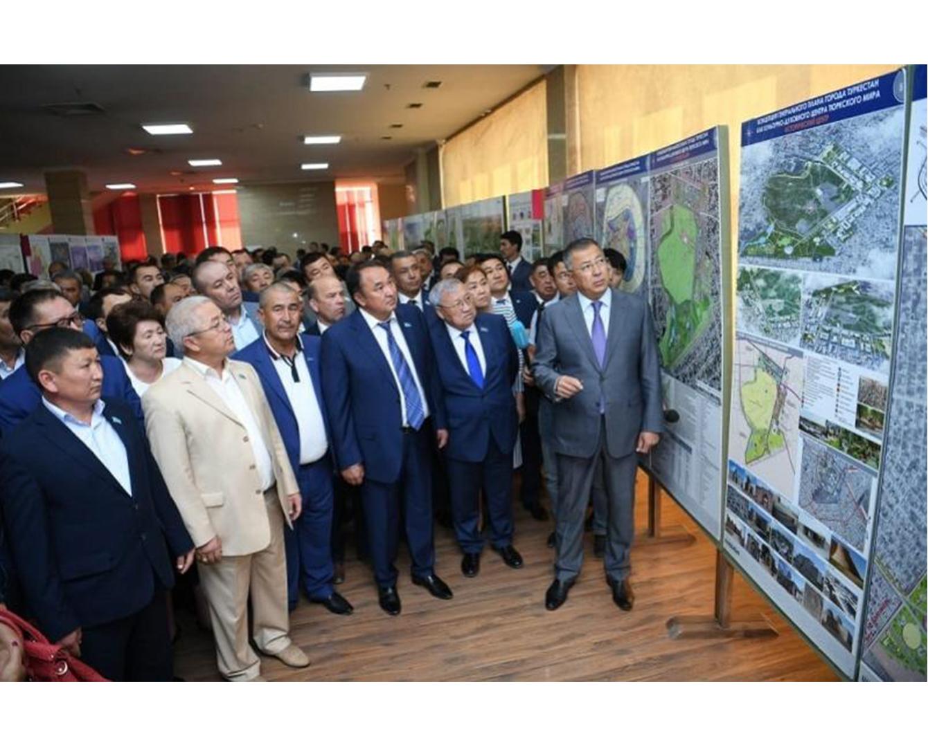 Бизнесмены внесут свой вклад в развитие Туркестана