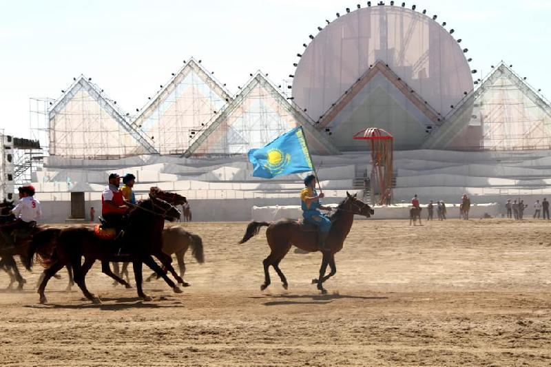 Kazakh kokpar team beat Krasnoyarsk at 3rd World Nomad Games