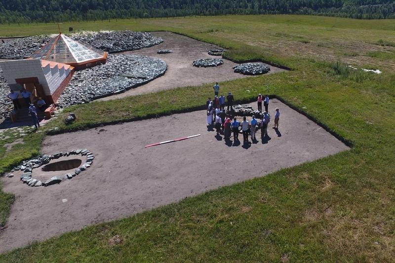 «Берел» қорғандары аумағында ашық аспан астындағы музей ашылды