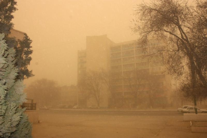 Kyzylorda region to see stormy weather