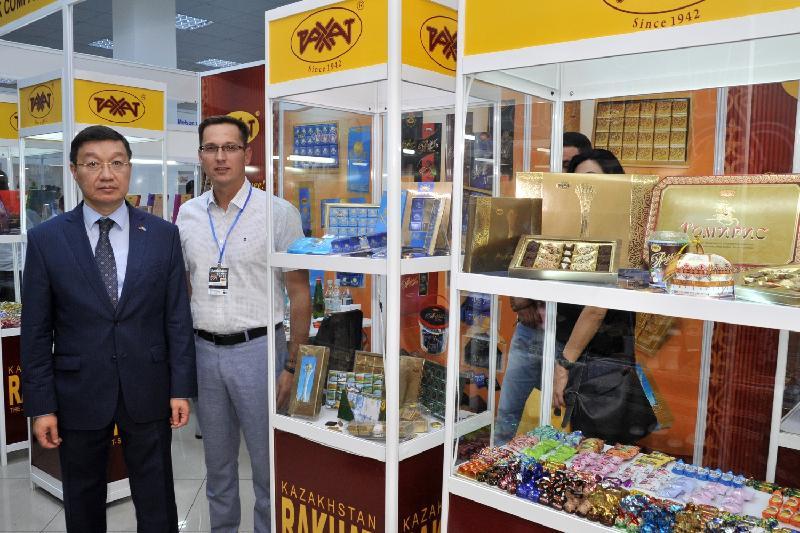 Казахстанская компания представила свою продукцию на международной выставке в Ереване