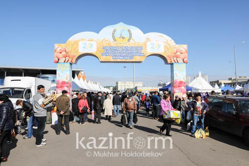 Павлодарцы ожидают 55 тыс астанчан на своей ярмарке