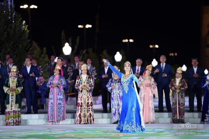 Арыстанбек Мұхамедиұлы Өзбекстандағы көне музыка фестиваліне қатысты