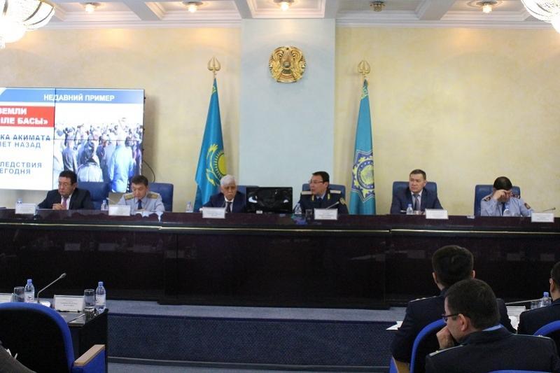 Алматы облысында прокурорлар жер телімдерінің бөліну заңдылығын тексерді