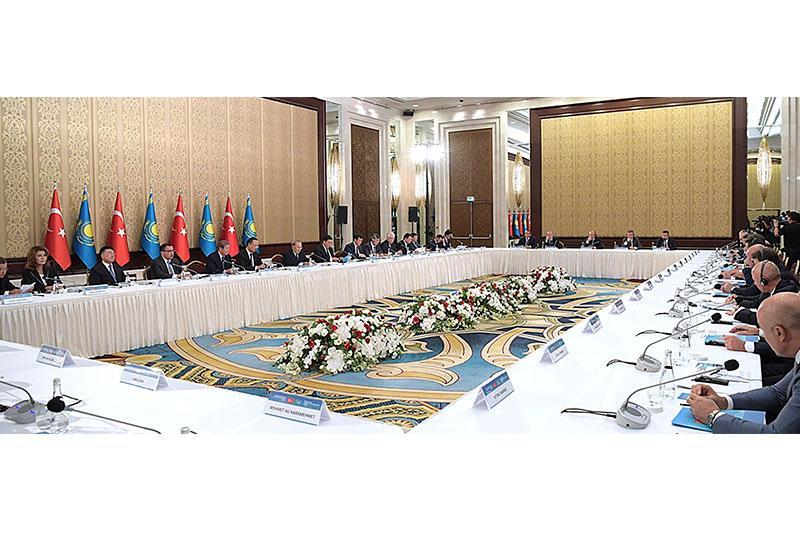 Nursultan Nazarbayev calls Turkish companies to develop business in Kazakhstan