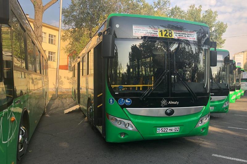 18-ти метровые автобусы появятся в Алматы
