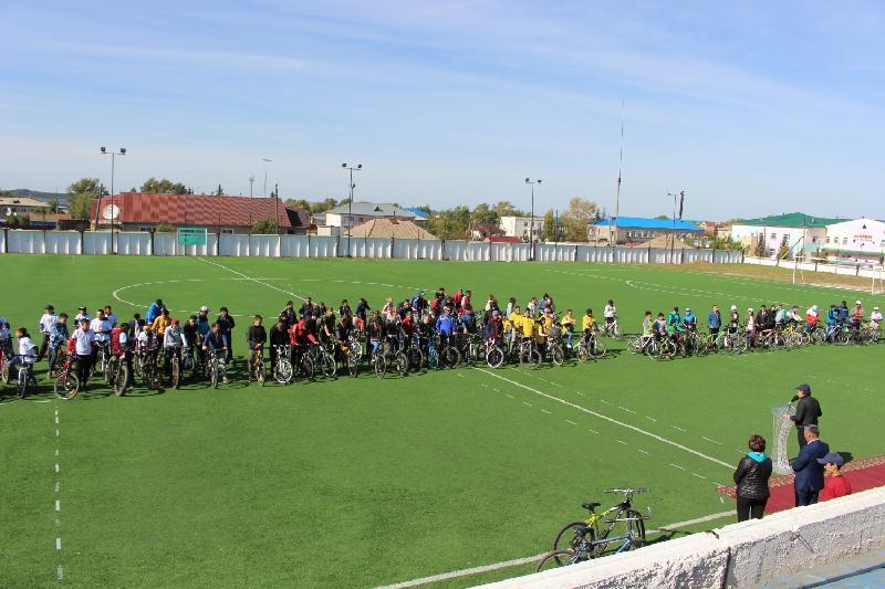 Около 200 человек совершили велопрогулку по туробъектам Зеренды