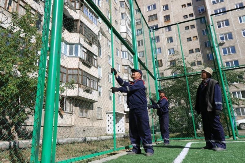 Проверку всех детских и спортплощадок начали в Павлодаре