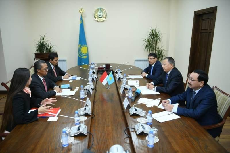 Turkestan rgn and Indonesia intend to develop tourism together