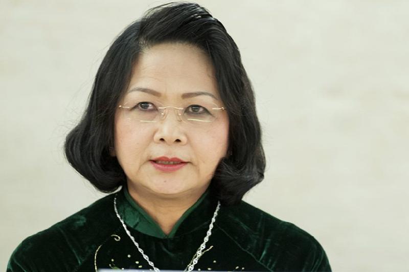 Вице-президент Вьетнама возглавила страну
