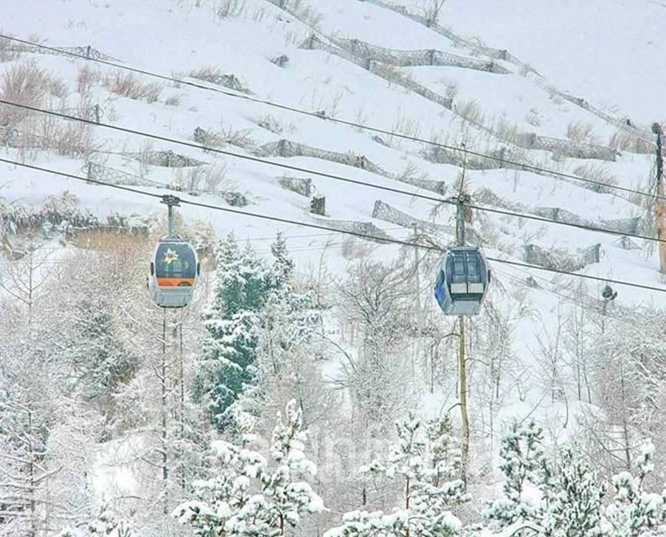 Горные курорты близ Алматы соединят канатной дорогой