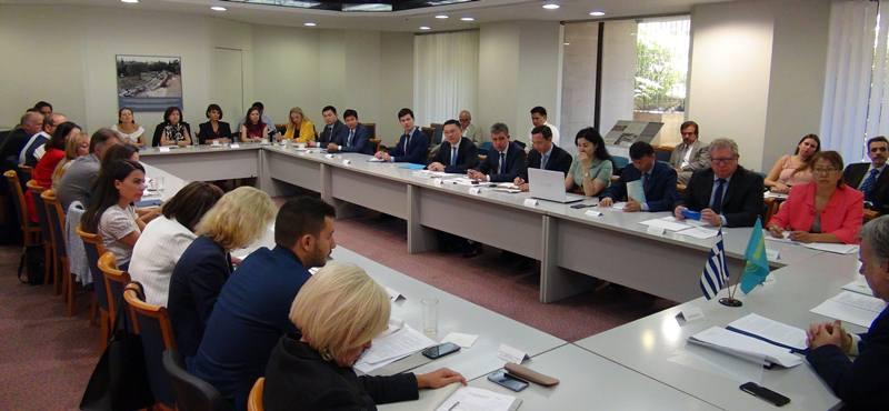 Астана и Афины наметили новые приоритеты в торгово-экономических отношениях