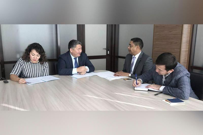 Казахстан и Кувейт рассматривают возможность установления прямого воздушного сообщения
