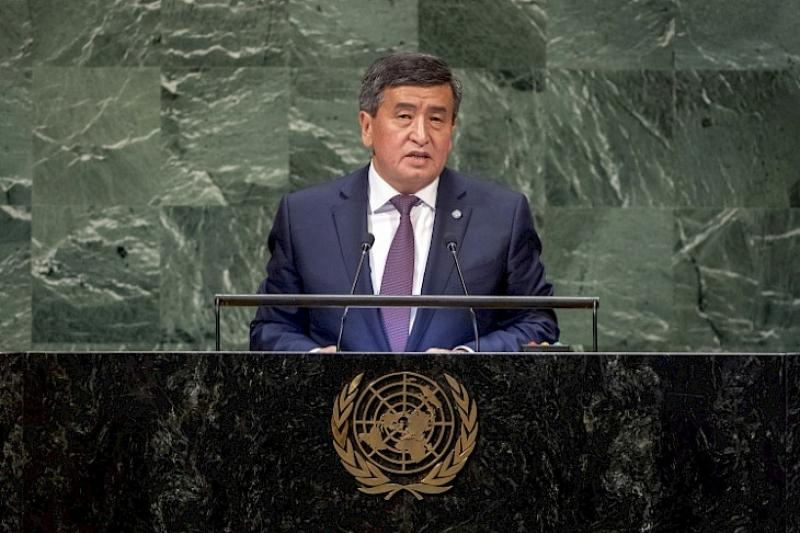 Kyrgyzstan puts forward its candidacy for non-permanent seat on UNSC for 2027-2028