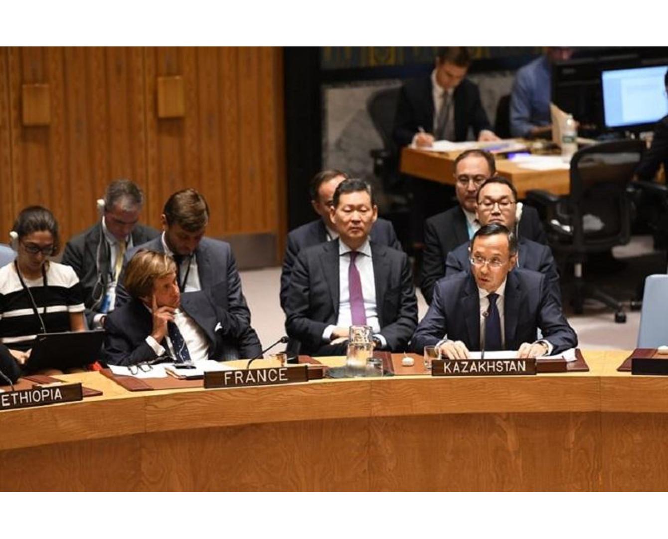 Казахстан в СБ ООН: Ядерные державы должны быть в авангарде борьбы за безъядерный мир