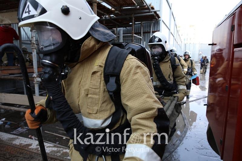 Алматыда ауруханадан өрт шықты: 100-ден астам адам қауіпсіз жерге көшірілді