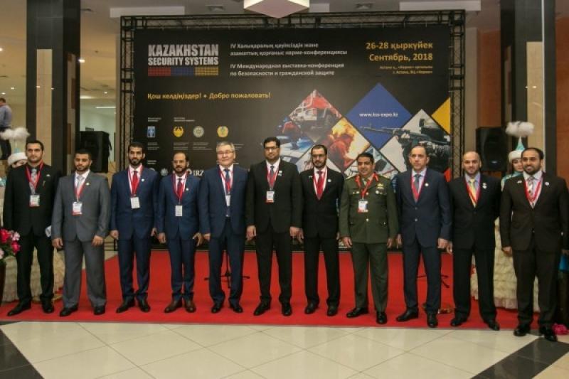 哈萨克斯坦安全系统会议在阿斯塔纳举行