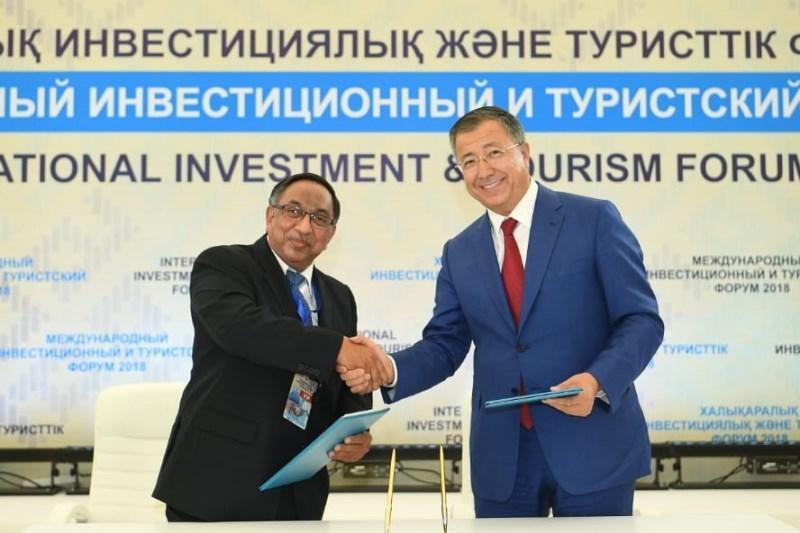 Memos worth USD 1.7 bln signed in Turkestan