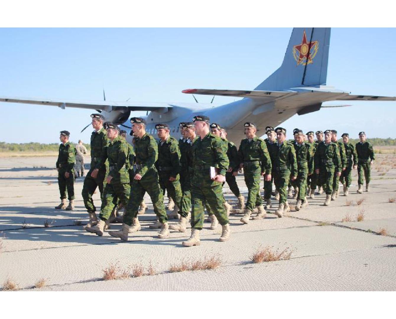 В Казахстан прибыли иностранные военные на учения ОДКБ
