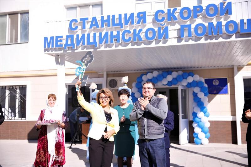 Новая станция скорой медицинской помощи открылась в Атырау