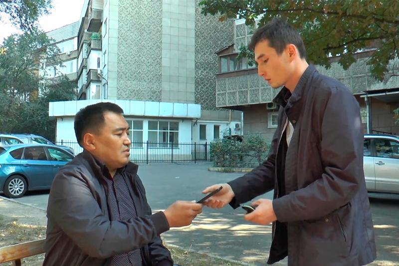Полиция Алматы с помощью видеороликов призывает граждан к бдительности