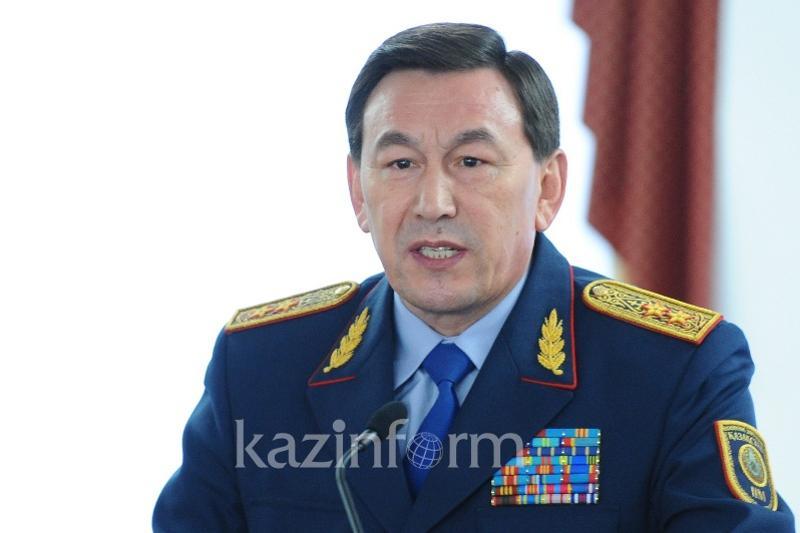 Глава МВД прокомментировал взрыв в Актау
