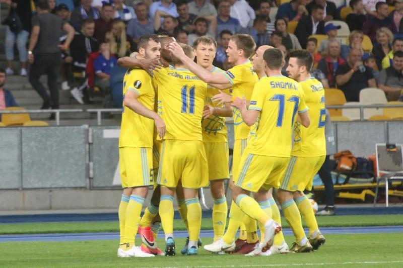 Еуропа лигасы: «Астана» «Ренн» командасынан басым түсті