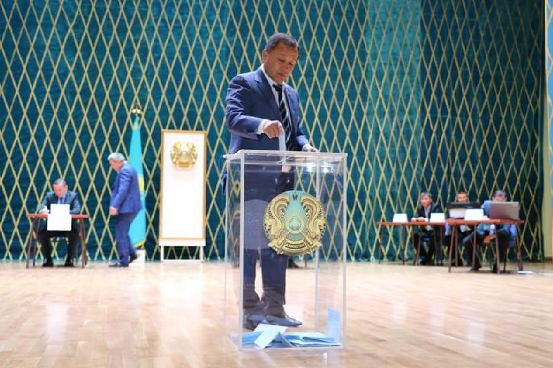 В Шымкенте выбрали депутатов Сената
