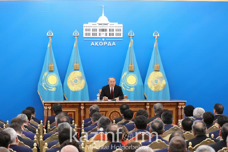纳扎尔巴耶夫总统最新国情咨文全文