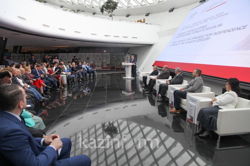 Астанада Польша тәуелсіздігінің 100 жылдығы аталып өтті