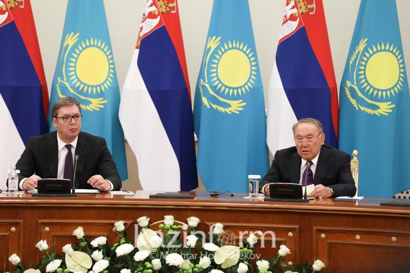 Президент Сербии попросил Нурсултана Назарбаева открыть Посольство в Белграде