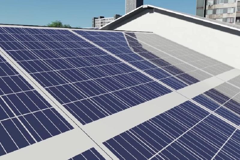 В Рудном появится пешеходная сетка на солнечных аккумуляторах