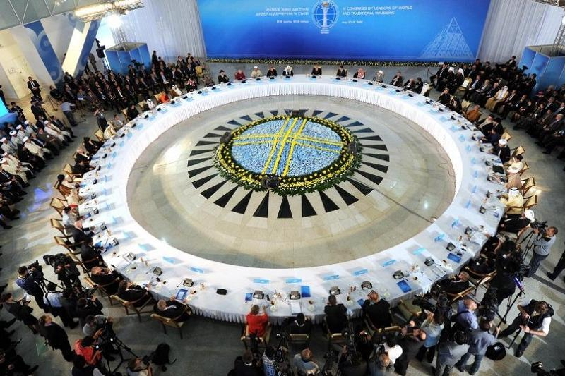 6th Congress of World and Traditional  Religions' Leaders kicks off in Astana