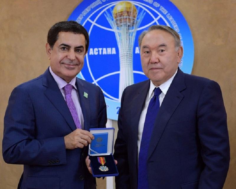 Президент РК встретился с Высоким представителем Альянса цивилизаций ООН