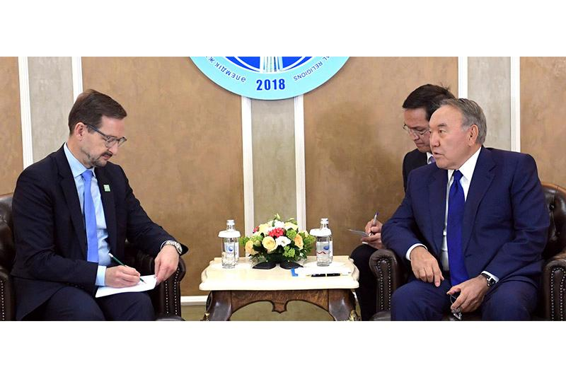 OSCE SecGen lauds Kazakh President's role in solution of regional conflicts