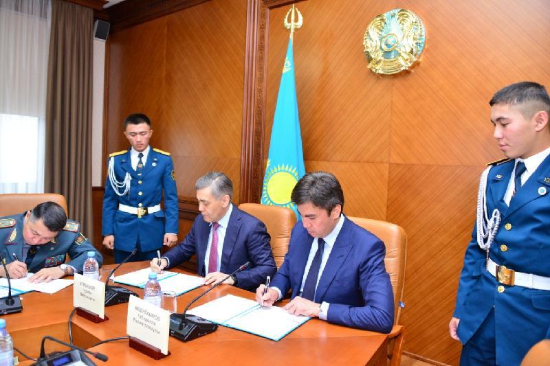 Министерство обороны и акимат Шымкента договорились сотрудничать