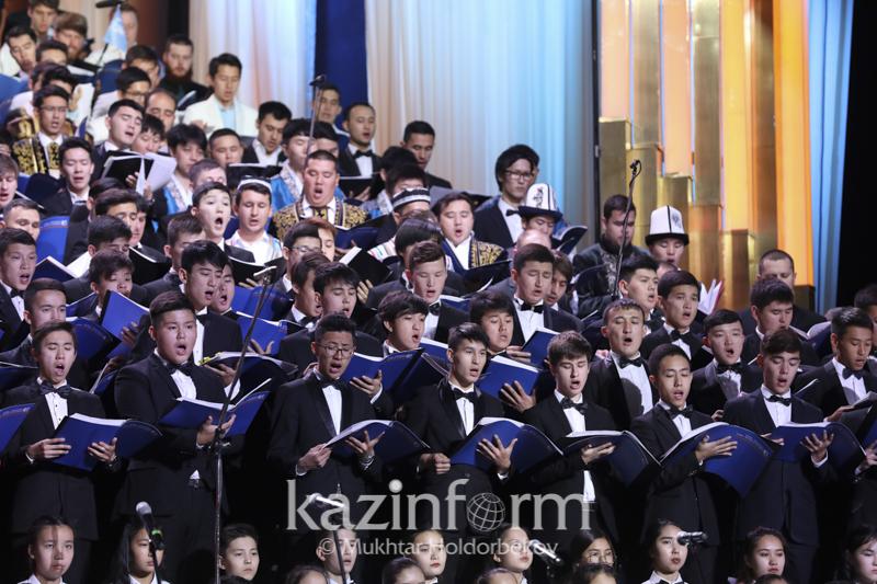 Концертом хора артистов мира завершился Съезд религиозных лидеров