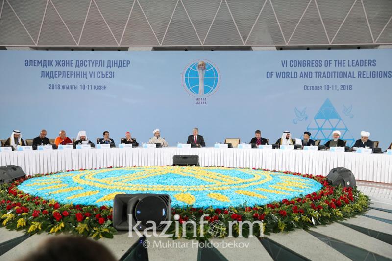 Álemdik jáne dástúrli dinder kóshbasshylary Astanada ne týraly ýaǵdalasty