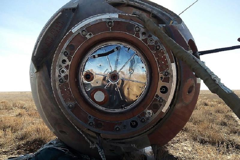 На месте падения ракеты-носителя «Союз ФГ» радиоактивная обстановка в норме - КЧС