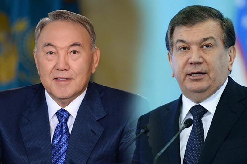 Нурсултан Назарбаев провел телефонный разговор с Шавкатом Мирзиёевым