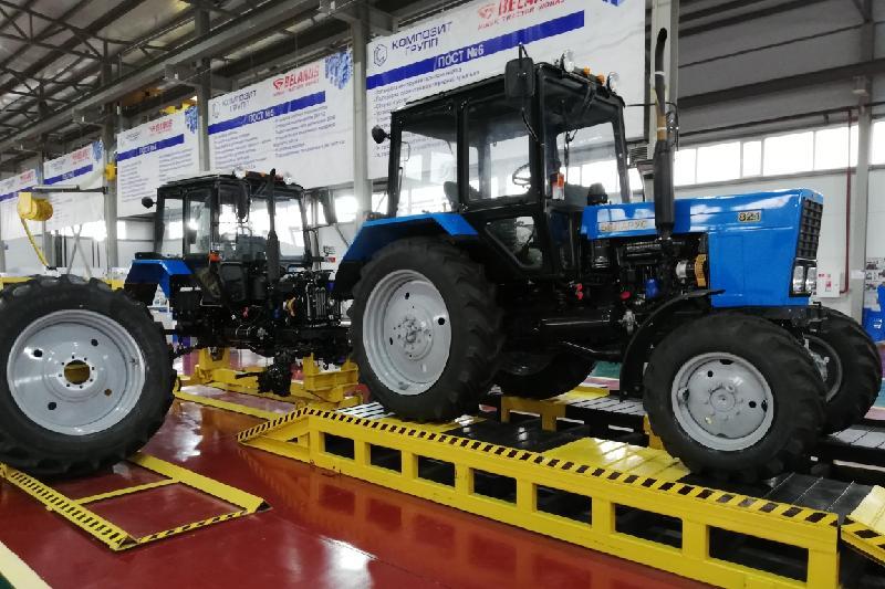 库斯塔奈州将开始生产白俄罗斯牌拖拉机