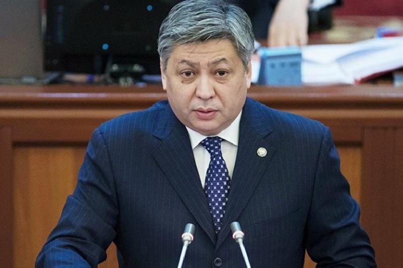 Министр иностранных дел Кыргызстана ушел в отставку