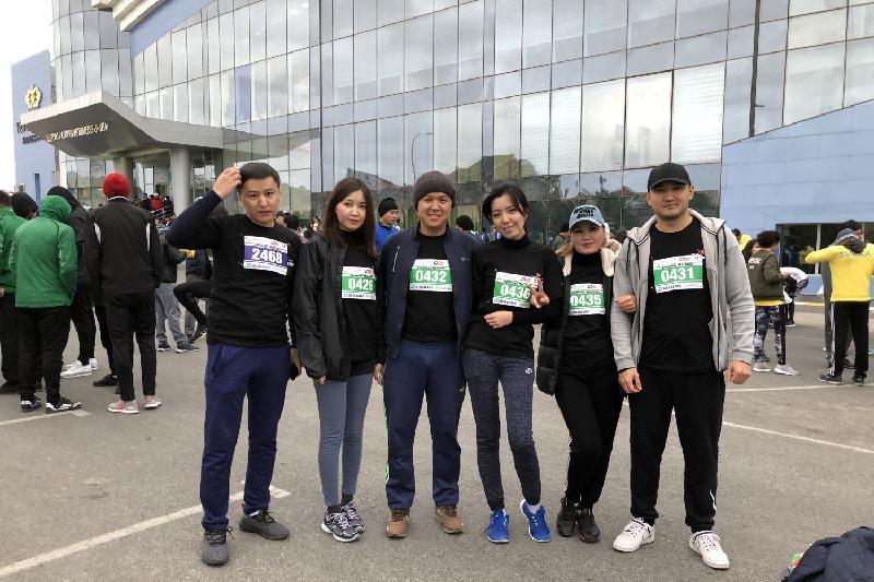 Шымкенттегі марафонға үш елдің желаяқтары қатысты
