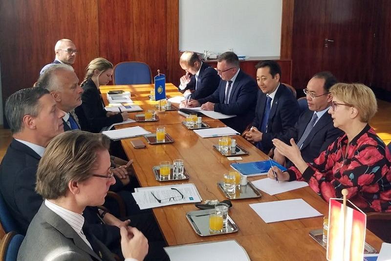 哈萨克斯坦与奥地利将在打击犯罪领域展开合作