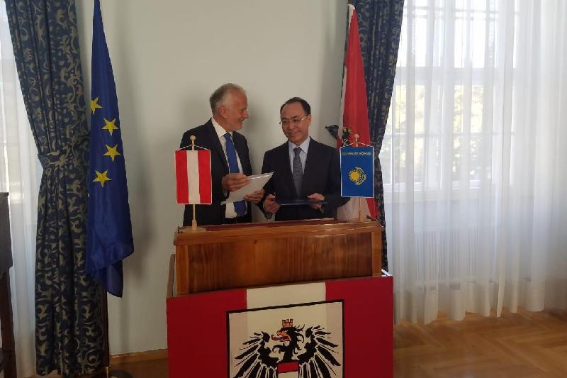 Kazakhstan, Austria to intensify coop in extradition issues