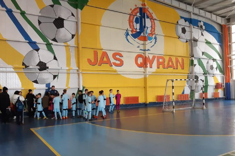 New football center opened in Almaty