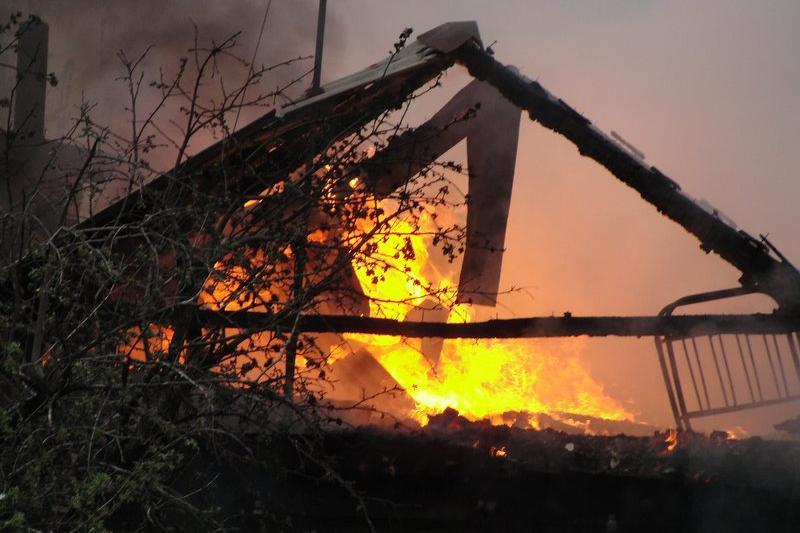 Женщина погибла при пожаре в Туркестанской области
